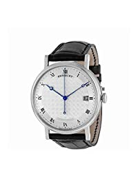Breguet Mens Classique Automatic White Gold Silver Dial Watch 5177Bb/12/9V6