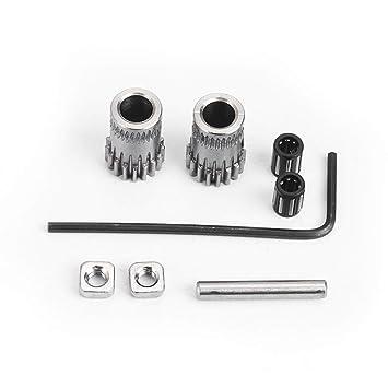 Ocamo 1 Set para Prusa i3 MK2/MK3 Dual Gears DIY Prusa i3 Kit de ...
