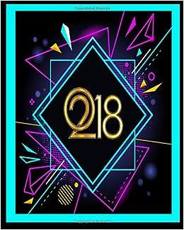 2018 (Year Planner) : 2018 Day Week Month Year Planner ...