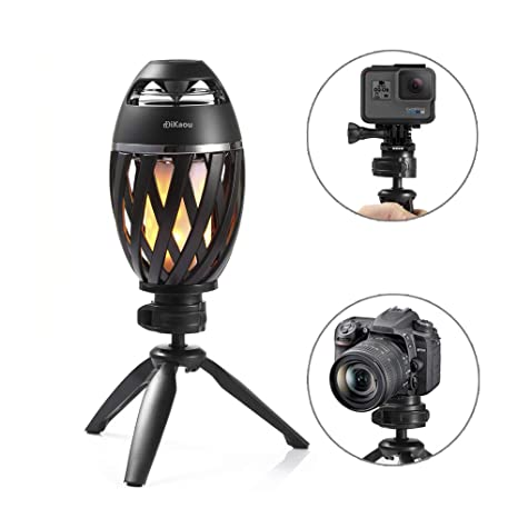 Amazon.com: Soporte para lámpara de mesa con llama LED ...