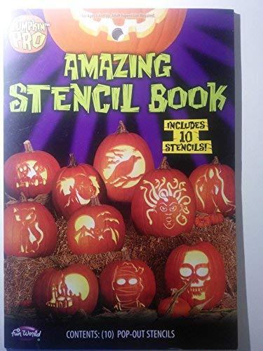 Fun World Adult's Amazing Stencil Book, Multi Standard