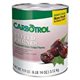 Carbotrol Number 10 Pitted Prunes, 110 Ounce -- 3 per case.