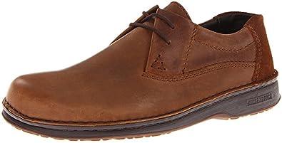 a98a6ebaff59 Birkenstock Footprints Women s Memphis Cognac Leather Oxford Wide 406211  (36 EU US Women s 5