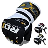 Authentic RDX Gel MMA Grappling Gloves Boxing Hand Wraps Punch Bag Fight Muay Thai