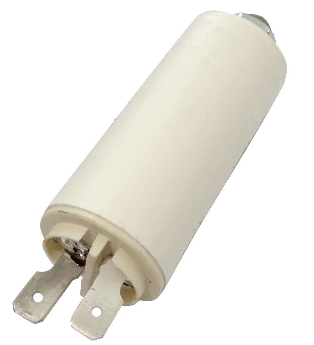 permanente lavoro condensatore per 2/μf 420/V Motor con lacci /Ø25/x 56.5/mm /± 5/% 10000H c18686 Aerzetix