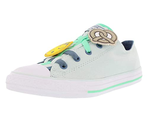 Converse Chuck Taylor All Star Loopholes Ox Fiber Glass Blue Coast White  (Little ff50876c5