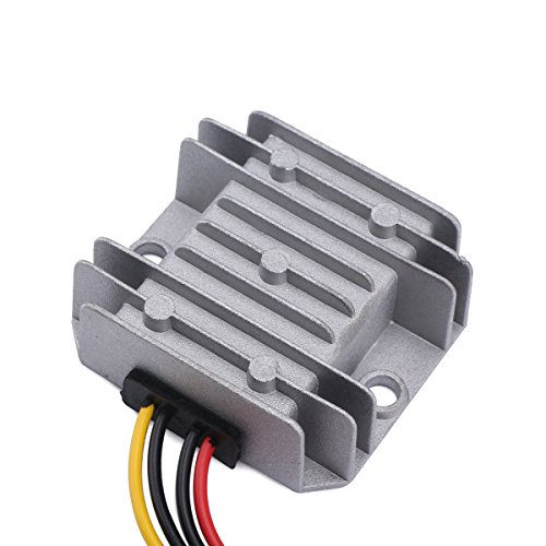 DROK 090586 DC-DC Waterproof Buck Converter 9-32V Step Down to 5V Voltage Regulator 10A 50W Power Supply Voltage (Simple Dc To Ac Converter Circuit Diagram)