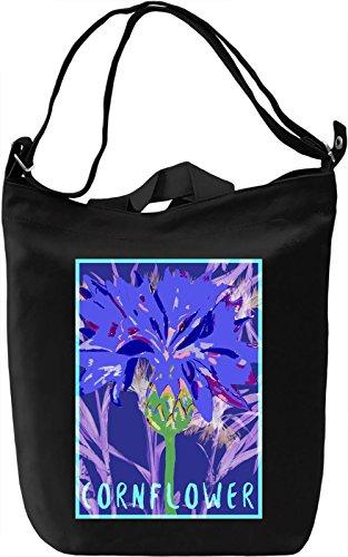 Cornflower Borsa Giornaliera Canvas Canvas Day Bag| 100% Premium Cotton Canvas| DTG Printing|