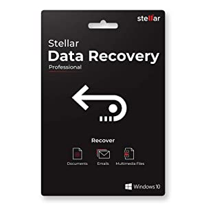 Stellar Data Recovery Software v9.0   For Windows   Professional   1 PC 1 Yr   Activation Key Card
