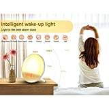 Smart Wake Up Light, Erauh Sunrise Alarm Clock
