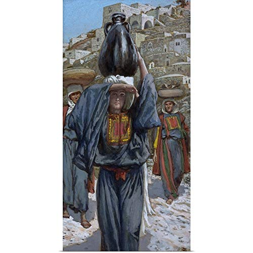 GREATBIGCANVAS Poster Print Entitled Martha, Illustration for The Life of Christ, c.1886-94 by James Jacques Joseph Tissot 18