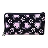 Womail Women Long Zipper Heart Wallet Card Coin Change Holder Handbags (Pink)