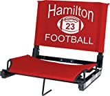 IMPRINTED Personalized Stadium Chair Stadium Seat
