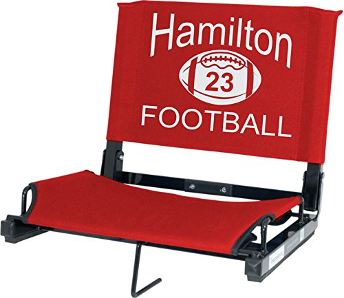 IMPRINTED Personalized Stadium Chair Stadium - Print Personalized Stadium