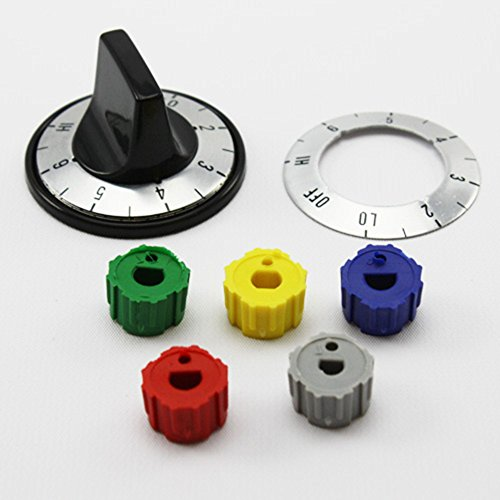 Universal Infinite Range Knob Kit KN005 With Labels and Multiple Fittings - Infinite Knob