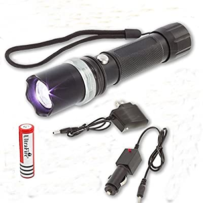 1 Set Leading Fashionable 2000 LM LED Flashlights Torch Bike Light Military Tactical Police SWAT Rechargeable Flashlight Zoomable Chargable Charger Pocket Spotlight Rechargable Batteries Lights Bulb