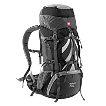 NH70B070-B Naturehike 75L Unisex Climbing bag Outdoor Backpack Shoulders Bag Camping bag