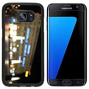 Liili Samsung Galaxy S7 Edge Aluminum Backplate Bumper Snap Case iPhone6 IMAGE ID: 15062867 cologne city night bokeh