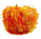 Crystal Palace Splash #9216 Orangeade - Oranges, Yellow Feather Boa Short Eyelash Yarn 100 gram 85 Yards
