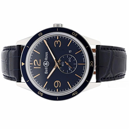 Bell-Ross-BR123-automatic-self-wind-mens-Watch-BRV123-BLU-STSCR-Certified-Pre-owned