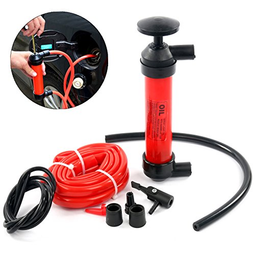 YaeTek Liquid Transfer/Siphon Hand Pump - Manual Plastic Sucker Pump