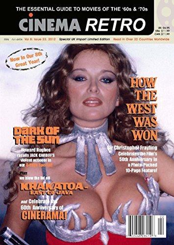 Cinema Retro Issue #22 'How the West Was Won', Cinerama