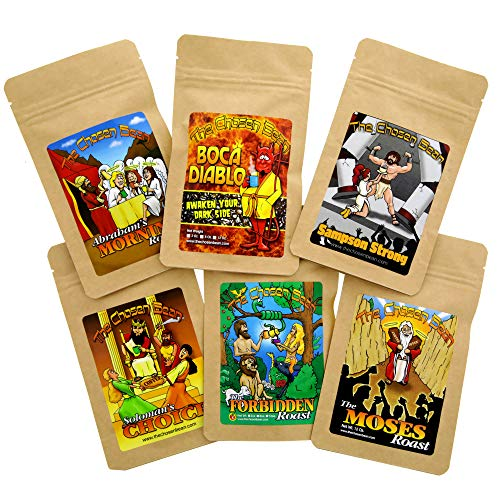 The Chosen Bean Premium Artisan Coffee Story of The Bean Gift Set Includes 6 Special Coffees
