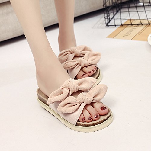 UK5 fondo Wear Pantofole Summer Fashion Donna EU38 Fashion Outer Amazing 5 Sandali Beach Colore piatto A CN38 dimensioni D Yznwq50Zz