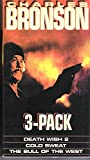 Death Wish 2, Cold Sweat and The Bull Of The West---New 3-Pack