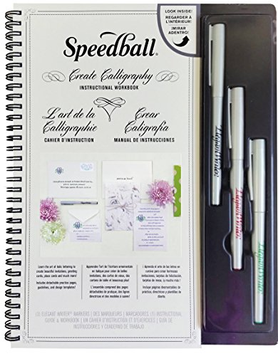 Speedball-Create-Calligraphy-Instructional-Workbook