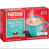 Nestle Hot Cocoa Mix, Fat Free, 8-count Envelopes (Pack of 6)