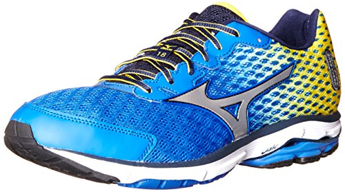mizuno men's wave rider 18 running shoe review