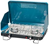 Stansport High Output Propane Stove with Piezo Igniter, Carribean Blue, Outdoor Stuffs