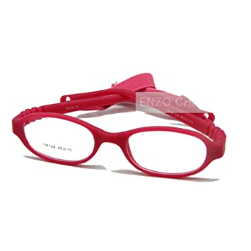 5956bf769f Image Unavailable. Image not available for. Color  EnzoDate Baby Optical  Glasses Frame Size 40 with Strap
