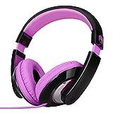 RockPapa Over Ear Stereo Headphones Earphones, for Adults Kids Childs Boys Girls, Noise