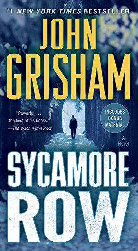 Sycamore Row: A Novel (Jake Brigance Book 2) (John Grisham's Best Novels)