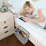 Kenley Bedside Caddy - Bed Skirt Storage 7-Pocket