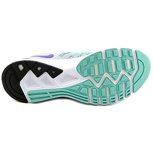 Nike 843882-003, Zapatillas de Trail Running para Mujer Gris (Wolf Grey/Fierce Purple-Hyper Turq-White)