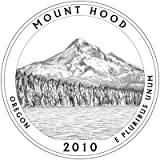 2010-P Mount Hood, OR National Park Quarter - Single Coin