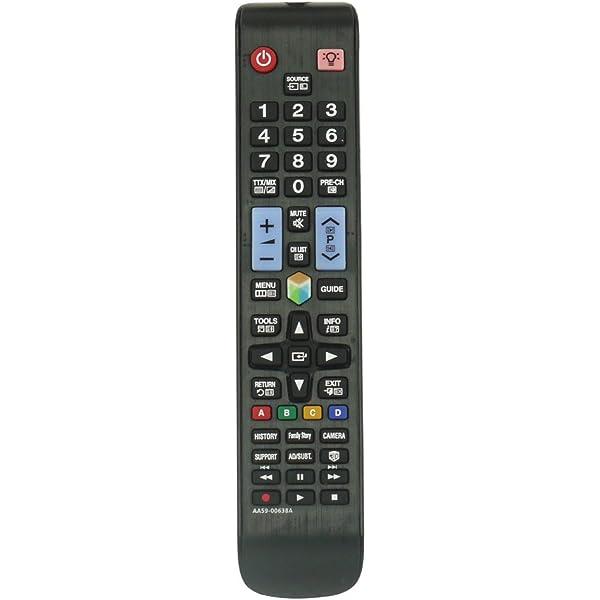 Universal Samsung Mando a distancia de sustitución para Samsung: Amazon.es: Electrónica