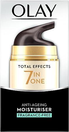 Olay - Total effects, anti edad hidratante de día sin fragancia, 50 ml