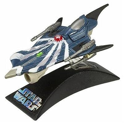 Hasbro Titanium Series Star Wars 3 Inch Vehicles Clone Wars Anakin's Modified Jedi Starfigher