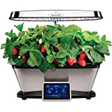 Bounty Elite LED with Strawberry Grow Bowl and Gourmet Herb Seed Kit by Aerogarden