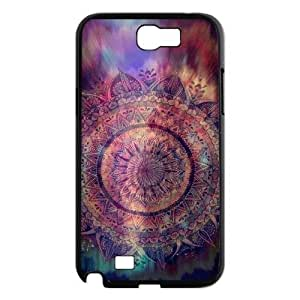 Teal Tribal Use Your Own Image Phone Case for Samsung Galaxy Note 2 N7100,customized case cover ygtg614013