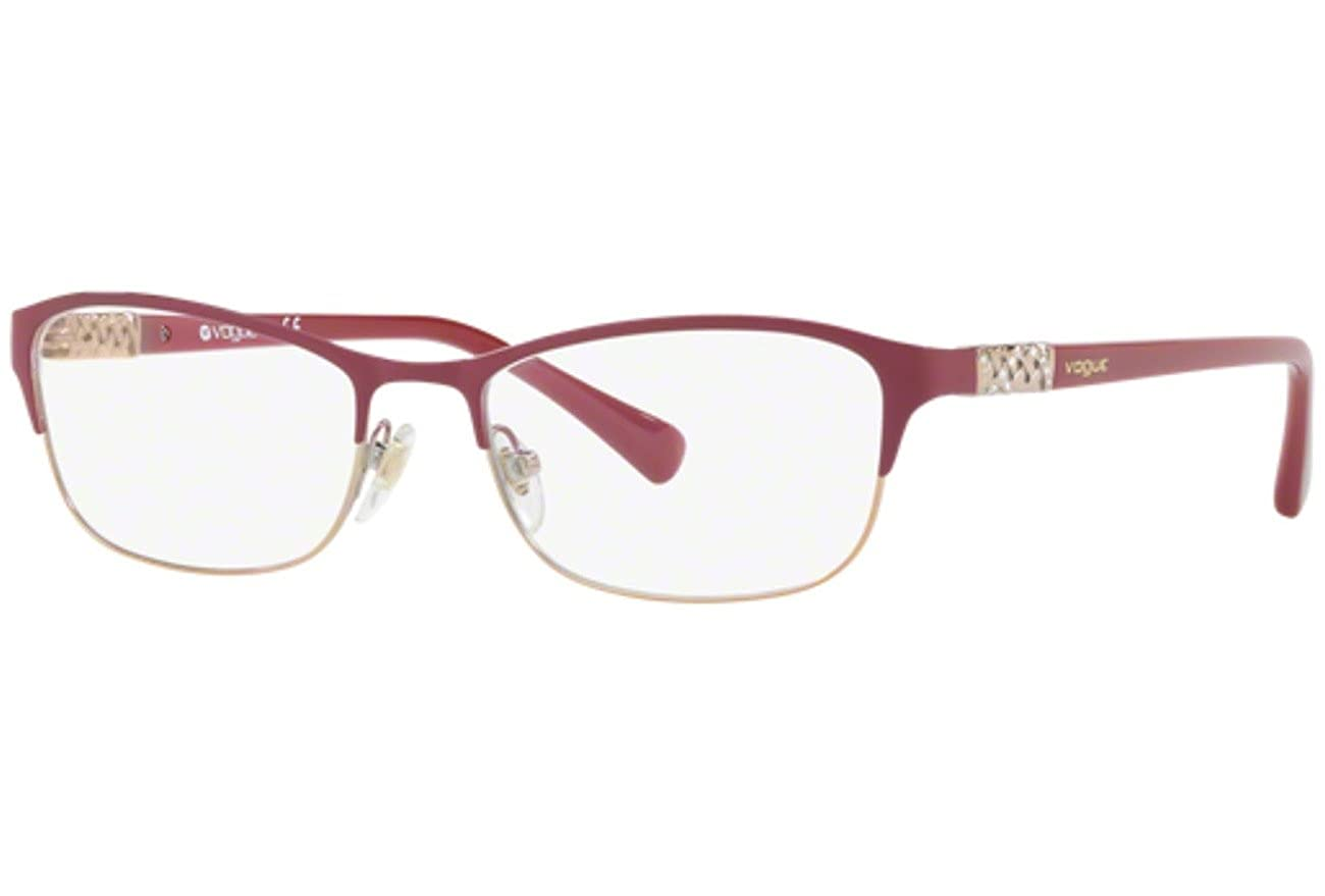 Bordeaux//pink Gold VO4057B-5055-54 Vogue VO4057B Eyeglass Frames 5055-54