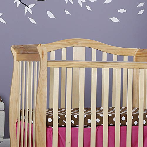 Amazon.com : Dream On Me Addison 4 in 1 Convertible Mini Crib, Natural : Baby