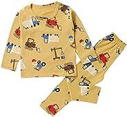 Juze Boy's Pajamas Cotton Pjs Thermal Underwear Chrismas Sleepwear