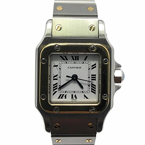 Cartier Santos Galbee swiss-quartz womens Watch W20012C4 (Certified Pre-owned)