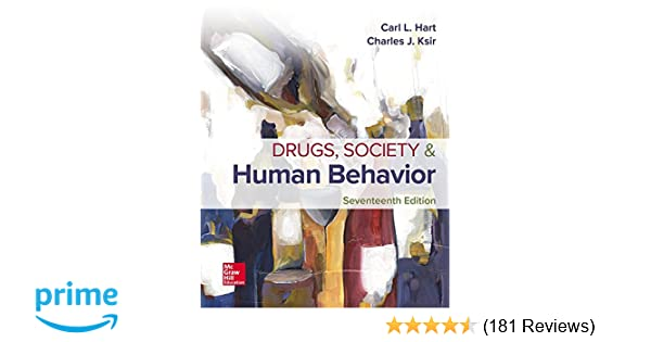 drugs society and human behavior 17th edition connect