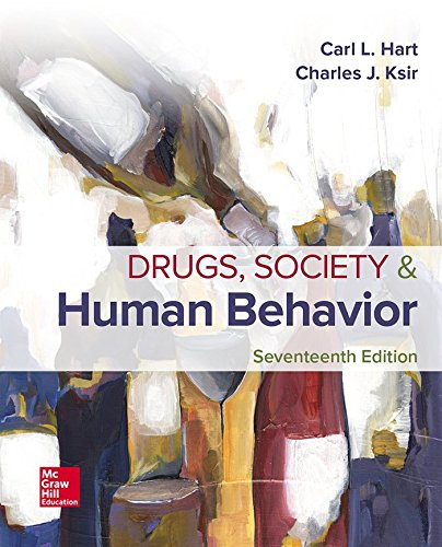 Drugs, Society, and Human Behavior